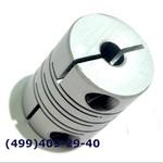 SRB-22C 6x6 Муфта для энкодеров разрезная,  диаметр 22мм, с зажимным кольцом, диаметры валов 6*6мм