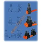 Адаптер FA4 4x6-35 для изолированного соединительного зажима ФИДОС.