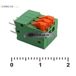 Клеммники нажимные XY123V-3 (2,54 mm) (от 500 шт.)