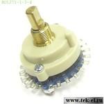 Галетные переключатели RCL371-1-3-4 (от 20 шт.)
