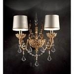 Imperial Gold Imperial/A2 Swarowski Elements Masiero Luxury, Бра