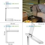 F0028057 Flos chrome, настольная лампа > Desk lamps