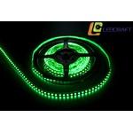 LED лента SMD 3528 9.6 Вт на метр 120 на метр IP 33 Зеленый