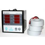 3-х фазный щитовой цифровой мультиметр с трансформатором тока вольтметр + амперметр + частотомер электронный TENSE
