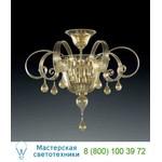Потолочная люстра 910/PL Oro 24Kt Vetri Lamp