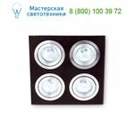 Faro 43389 PLANO-4 Wenge recessed grey, точечный светильник