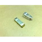 Контакт ПМ12-160 подвижный (мостик) и неподвижный (башмак)
