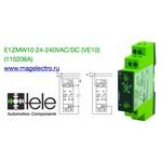 E1ZMW10 24-240VAC/DC (цена 10 шт) (110206A) Реле времени многофункциональное