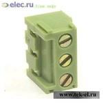Терминальные блоки XY303V-03P 3.81mm лифт (от 500 шт.)