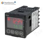 E5CN-R2MT-500 AC100-240 Цифровой регулятор, 48х48 мм, универсальный вход для подключения термопары