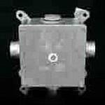 Коробка металл 119х119х78 мм с защитным зажимом с 5 вводами IP54
