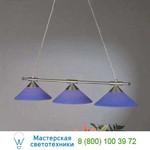 Подвесной светильник HL 6-1406/3 satin/445 blau Orion