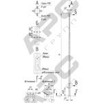Опора граненая коническая - ОГК-5(3)-Ф