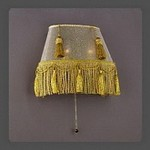 La Lampada 1072 WB 1072/2.40 Paralume Ovale, Бра
