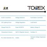 XP151A12A2MRN - микросхемы Torex