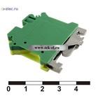 Клеммные колодки на динрейку PC 6-PE (от 100 шт.)