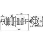 Изолятор ИП-6/400-3,75 УХЛ2