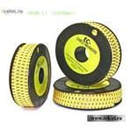 Маркеры на кабель EC-1-0 (ECM-1) (1000шт) (от 100 шт.)