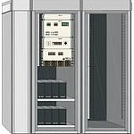 Система электропитания ШТИЛЬ PS48-0280 (8/1800-6U) в антивандальном климатическом шкафу ШТИЛЬ ШТК-103