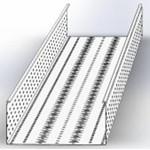 УЛ(П)-200х80х3000 (1 мм) OSTEC Универсальный лоток перфорированный