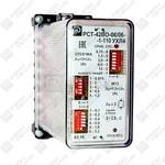 Двухфазное реле максимального тока РСТ-42ВО с независимой выдержкой времени и токовой отсечкой
