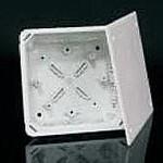 Коробка ПВХ с крышкой V 100 E, 128х128х70 мм