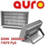 Промышленный светодиодный светильник АУРО-ПРОМ-200 200Вт 26000Лм IP67