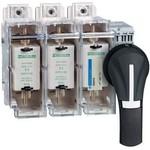 Корпус выключателя-разъединителя-предохранителя 3P размер 00С 63A | арт. GS2GG3 Schneider Electric
