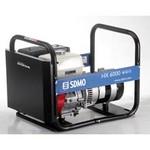 Бензин генератор SDMO HX 6000-2. Портативный бензогенератор 6.0 кВт.