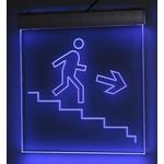 Светильник 'выход' лестница