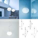 Zero S1G9/S3/S5/S7 Pendant light светильник Prandina, Depends on lamp size