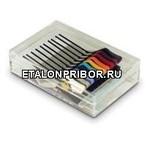 PK400-1 - комплект цветных микрозажимов (10шт.) диаметр 2,54 мм.
