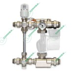 Насосно-смесительный узел Comisa c циркуляционным насосом для водяных теплых полов / 88.10.841