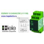 E3ZM20 12-240VAC/DC (111100) Реле времени многофункциональное