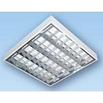 Потолочный люминесцентный светильник ЛПО46-4х18-205 Rastr 4х18Вт   арт. 46418205   АСТЗ