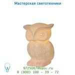 13505/01/31 настольная лампа Lucide OWL Tischl. E14 H24cm Weiss