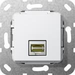 569603 System 55 Вставка: Modular Jack RJ45 Cat. 6A 10ГБ Ethernet