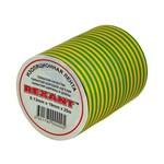 Изолента ПВХ15мм х 25м желто-зеленая