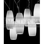 7PERO0S22 De Majo подвесной светильник Peroni S14D2 хром-