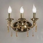 581 Nervilamp 581/3A Gold Bronze Amber Cristall, Бра