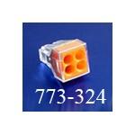 Клемма WAGO (ВАГО) 773-324 (без пасты) 4*2,5 мм2