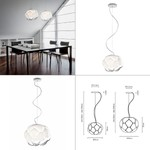 Fabbian светильник Cloudy Pendant Light
