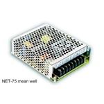 NET-75D-12 mean well 75W, 12V, 0.1-1.5А (от 5 шт. скидка 35%)