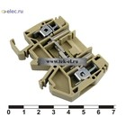 Клеммные колодки на динрейку MKTQ 6 (от 100 шт.)