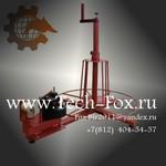 Станок (устройство) намотки и измерения ленты, шланга, мебельной кромки и т.д. в бухту