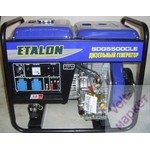 Дизельная электростанция Etalon SDG 5500 CLE (дизель генератор 5 кВт) с электростартером