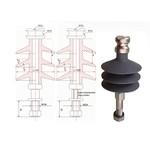 Полимерные изоляторы штыревые типа ОЛК 4, ОЛК 12,5