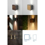 Светильник Marset Lab 2 Wall sconce Outdoor, LED 2x3W