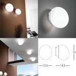 Goccia Wall/Ceiling Lamp  Linea Light светильник