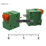 Клеммники нажимные XY123R-2 (2,54 mm) (от 500 шт.)